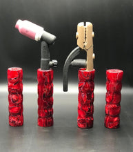 Lava Flows Acrylic Handle