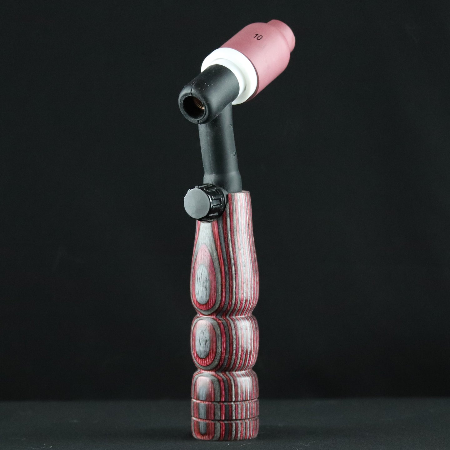 Red & Grey Wood Handle