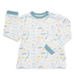 JuJuni ethical kids childrens t-shirt print colourful organic cotton