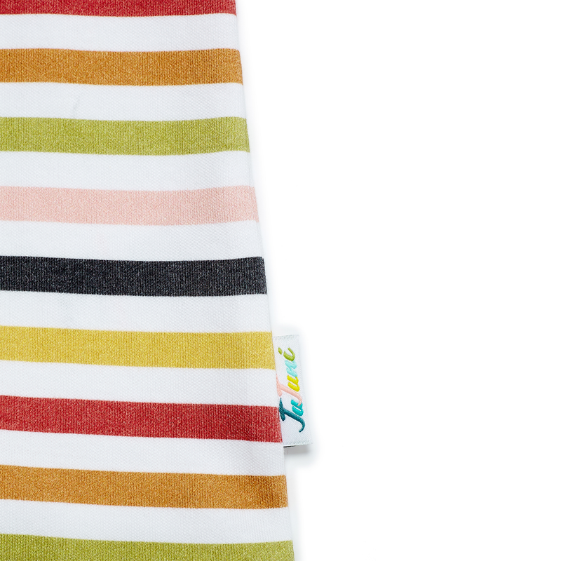 JuJuni kids striped t shirt organic cotton ethical small business str