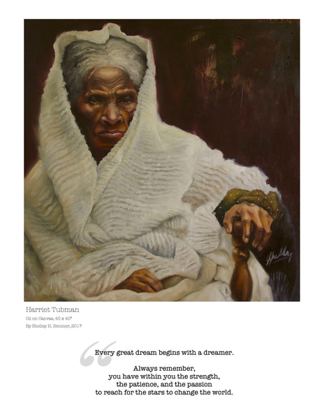 Harriet Tubman Limited Edition Print