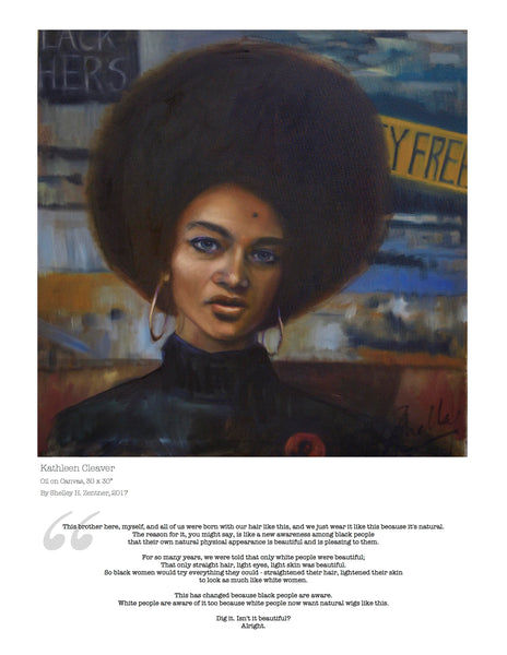 Kathleen Cleaver Limited Edition Print