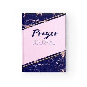 Prayer Journal - Pink Marble