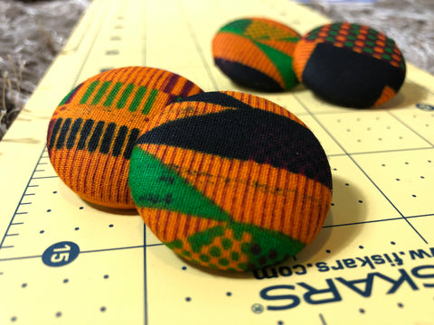 Kente Babe Stud Earrings