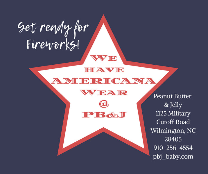 Celebrate July 4th with Americana Wear from PB&J