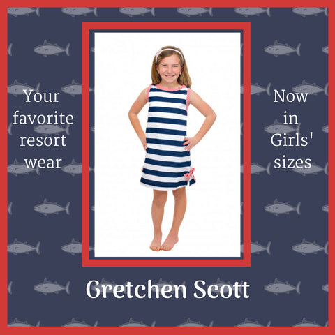 Gretchen Scott red white and blue stripes