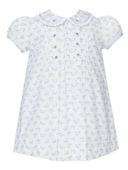 Anavini White Floral Dress