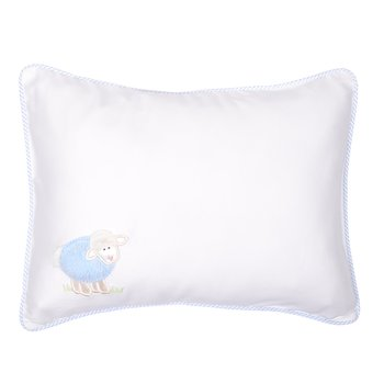 3 Marthas|Blue Lamb Baby Pillow