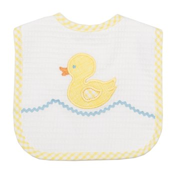 3 Marthas|Yellow Duck Feeding Bib