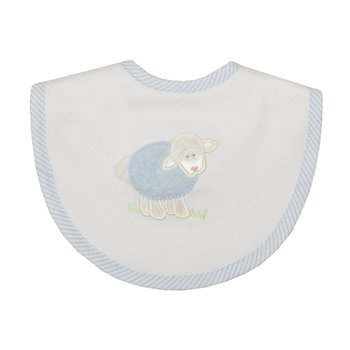 3 Marthas|Blue Lamb Medium Bib