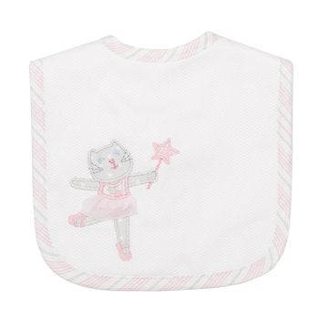 3 Marthas|Ballet Kitty Medium Bib