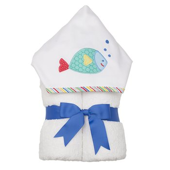 3 Marthas|Blue Fish Everykid Towel