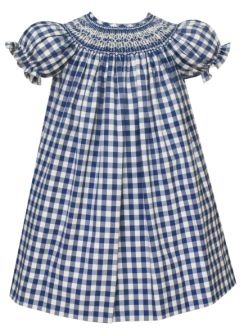 Anavini Periwinkle Plaid Bishop