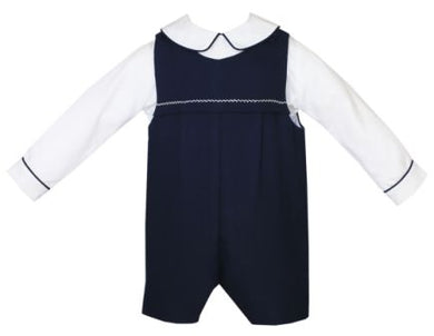 Anavini Navy Shortall Set