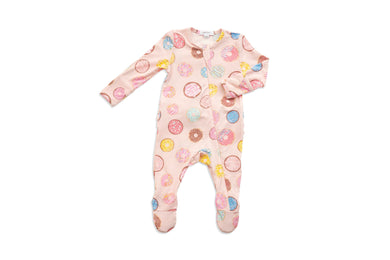 Angel Dear Donuts Zipper Footie