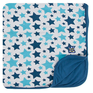 Print Toddler Blanket in Confetti Star