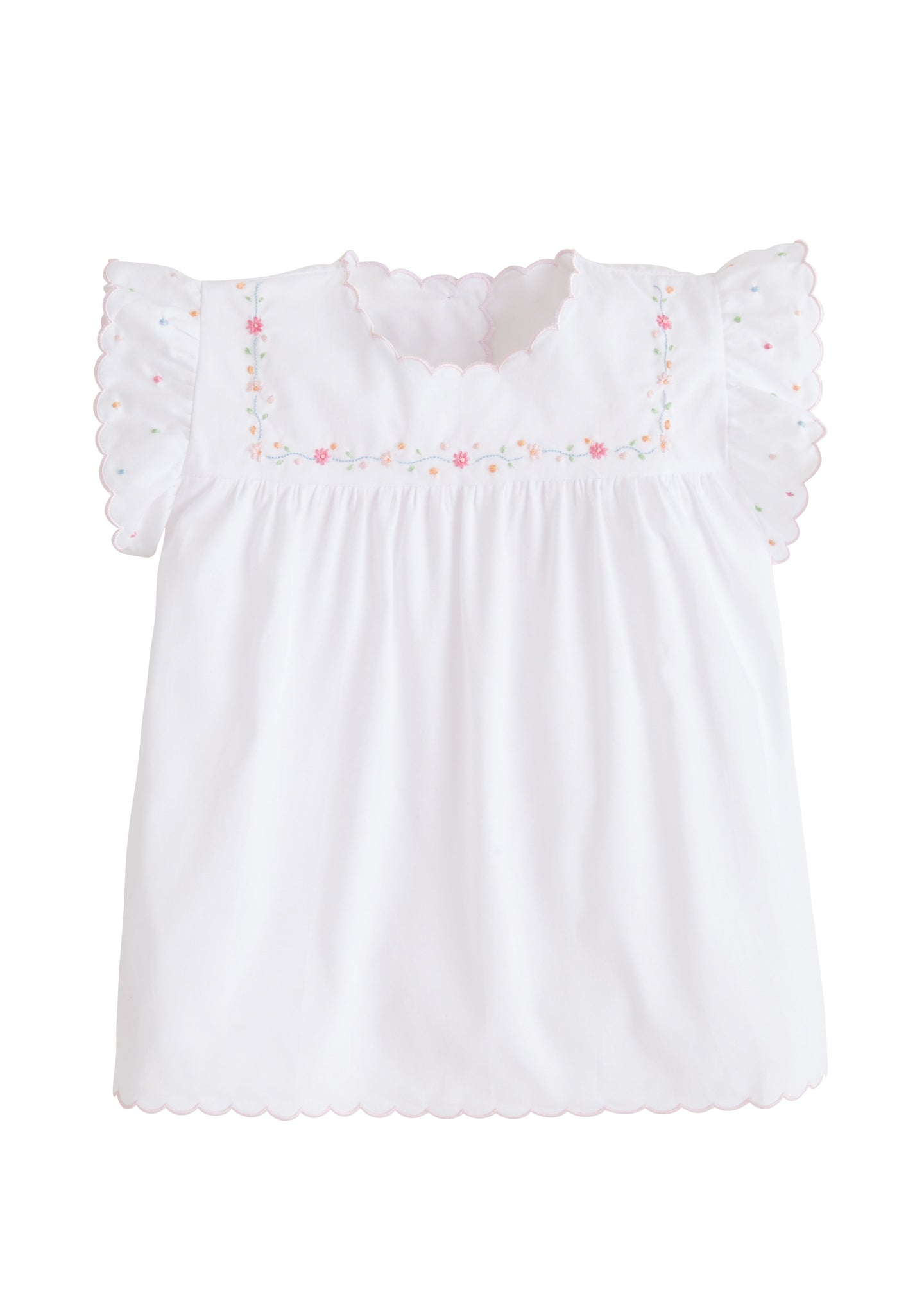 Little English Flower Chain Tea Blouse