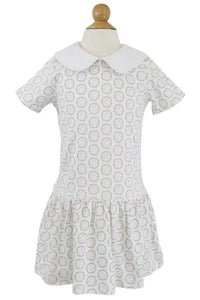 Lila & Hayes Libby Bunny Wreath Dress