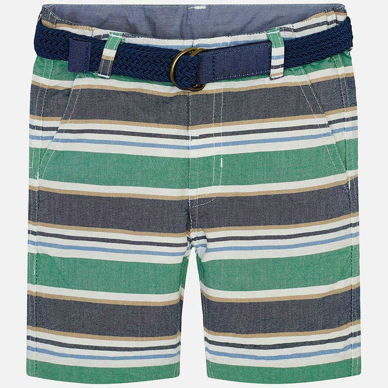 Mayoral Striped Bermuda Short