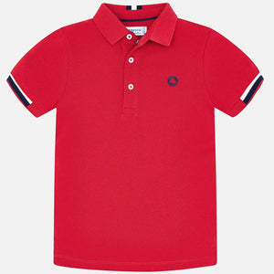 Mayoral Red/Navy Polo
