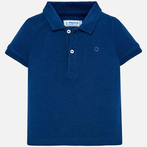 Mayoral Steel Blue Polo