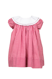 The Proper Peony Magnolia Red Gingham Dress