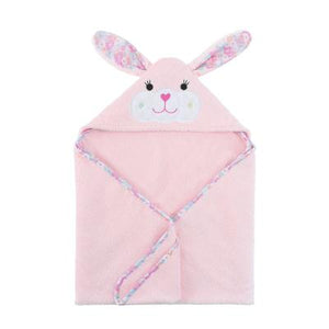Zoocchini|BABY SNOW TERRY HOODED BATH TOWEL - BEATRICE THE BUNNY