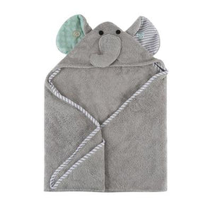 <span>Your little one will be snug, dry and oh-so-cute after bath time or a dip in the pool in our super soft and wonderfully absorbent Snow Terry Hooded Towels. Generously sized with a cozy hood, these towels offer a warm embrace with a friendly face both parents and babies will love.</span><br><span>These baby towels are bound around all the edges and the hood is lined with soft jersey for comfort.</span>