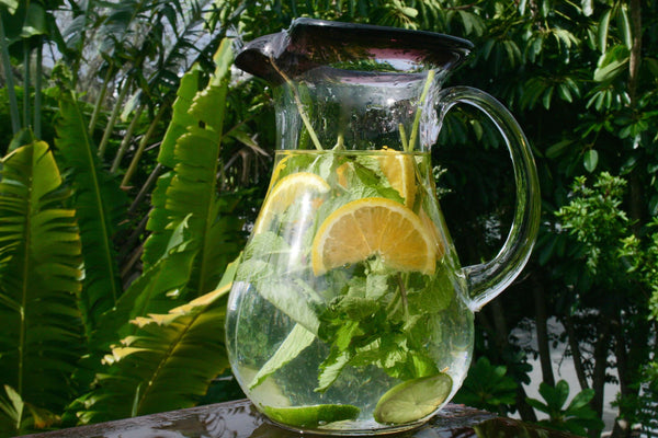 Hydrate to be Healthy & Wise Lemon & Mint water