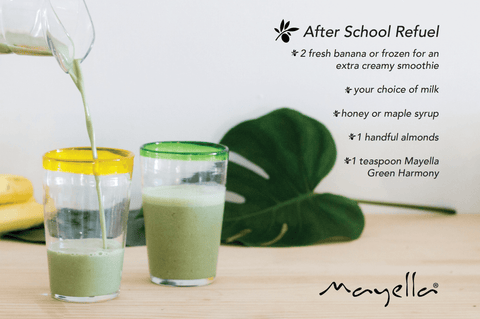 After School smoothie - Mayella 40 Day Alkalise Green & Go Detox Challenge blog post Teenagers