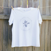 Mayella Living Organic Cotton Tee Nourish to Flourish Tee