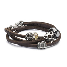 Trollbeads Armband Leder mit Beads aus der Herbst 2018 Kollektion Erlebe Abenteuer | Leather Bracelet with Beads from the Autumn Collection 2018 Adventure Begins