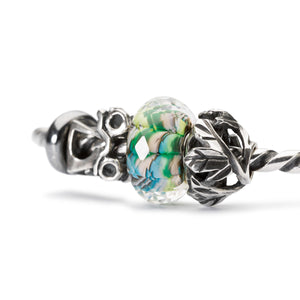 Trollbeads Armspange Silber mit Beads aus der Herbst 2018 Kollektion Erlebe Abenteuer | Silver Bangle with Beads from the Autumn Collection 2018 Adventure Begins
