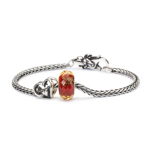 Rotes Funkeln | Red Twinkle Bead