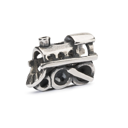 Trollbeads Lokomotive | Locomotive | Neue Kollektion Herbst 2018 Erlebe Abenteuer | New Autumn Collection 2018 Adventure Begins | Artikelnummer: TAGBE-20192 | Hauptwerkstoff: Silber | Designer: Louise Rimpler