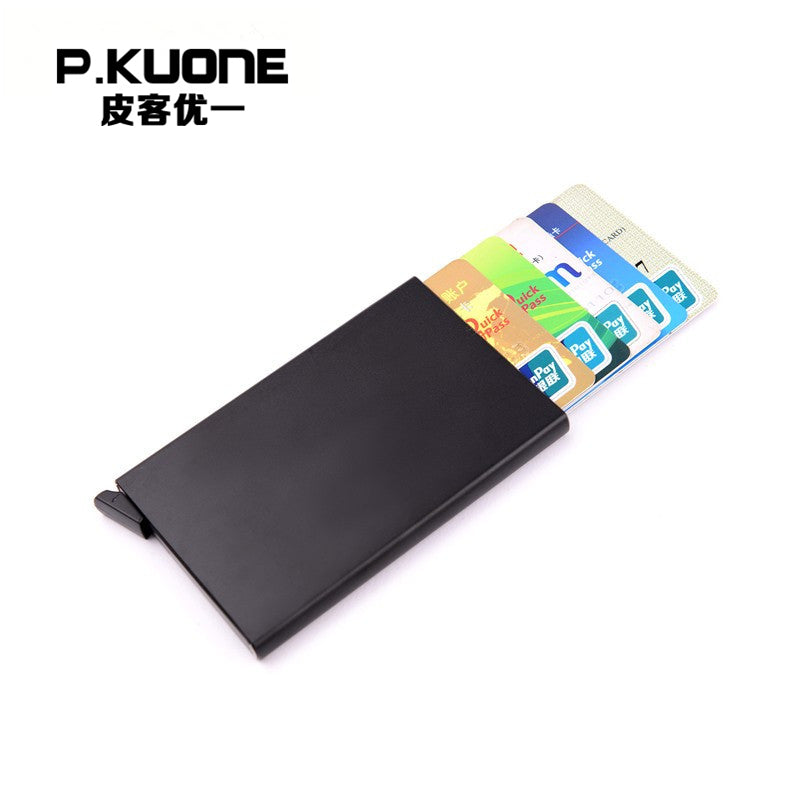 RFID Credit Protect Card Holder Wallet Aluminum Blocking Card Case