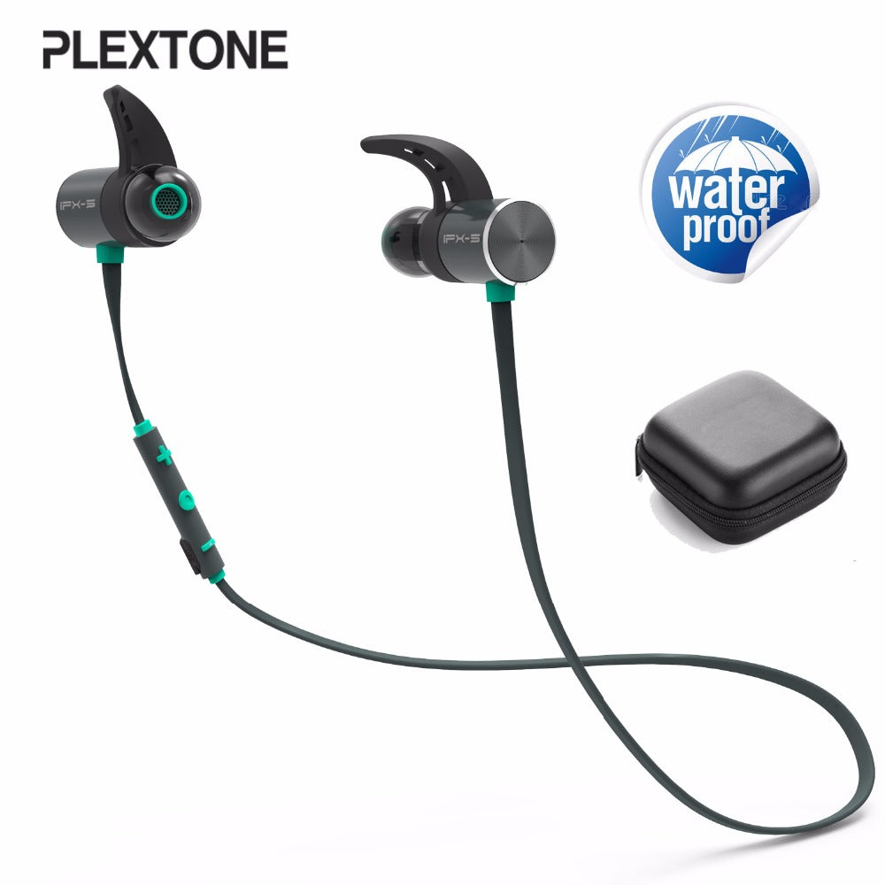Quality Bluetooth Sport Magnetic Earphones IPX5 Waterproof Wireless Mic