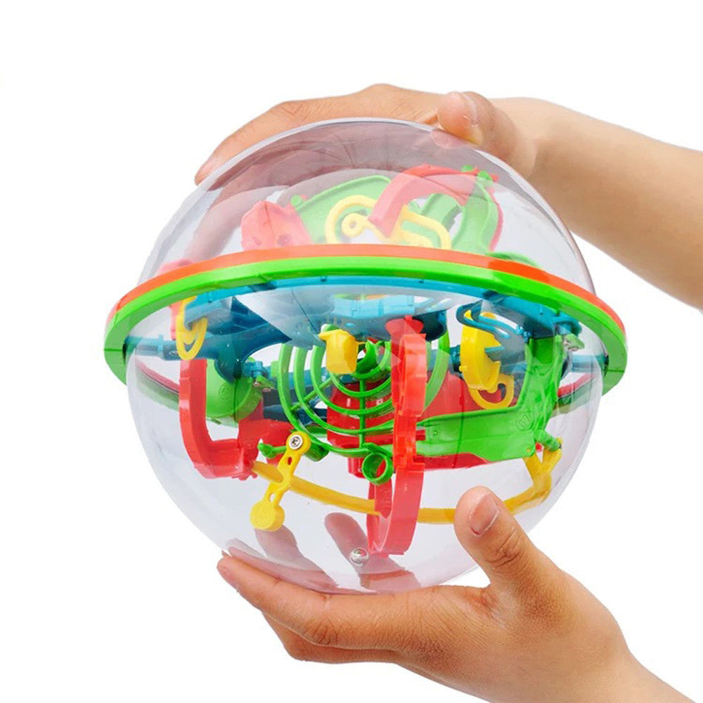 Magic Ball Maze Game 3D Puzzle Ball Creative Puzzle for Kids Labyrinth Toy