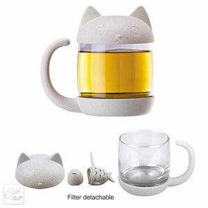 Lovely Cat & Fish Tea Infuser-Cool AF