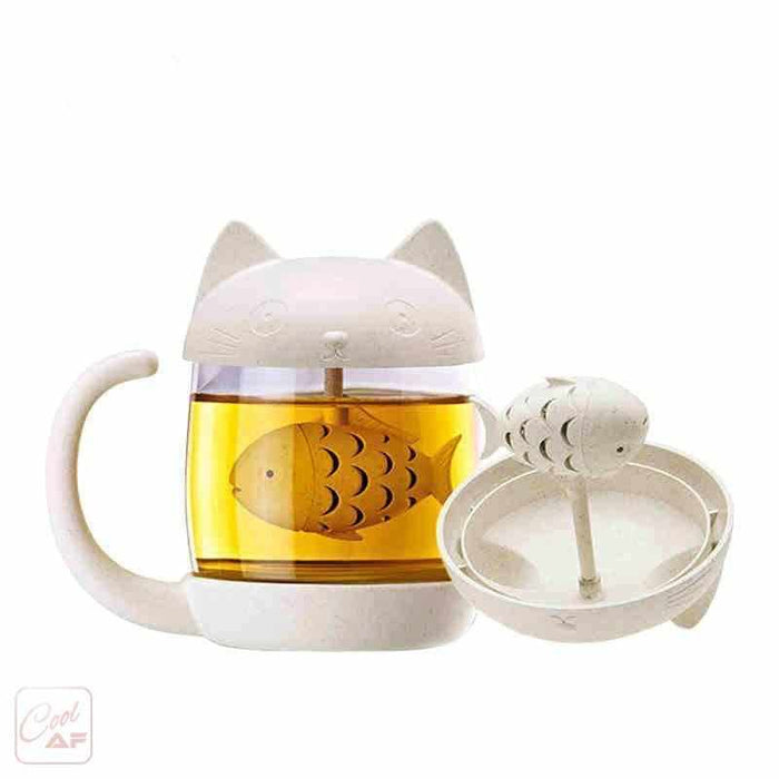 Lovely Cat & Fish Tea Infuser