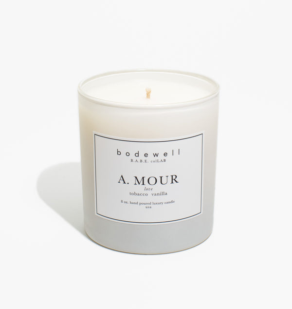 A. MOUR Candle - bodewellhome.com