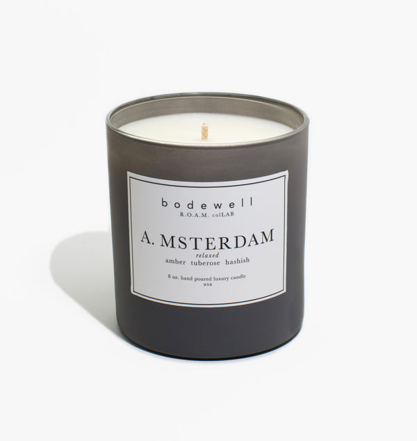 A. MSTERDAM Candle - bodewellhome.com
