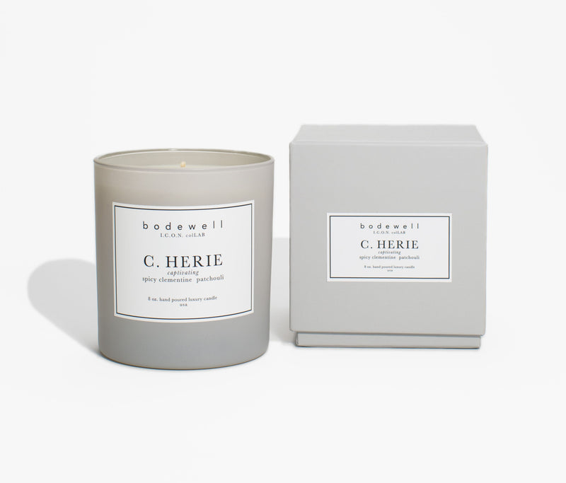 C. HERIE Candle - bodewellhome.com