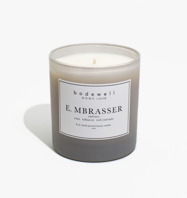 E. MBRASSER Candle - bodewellhome.com