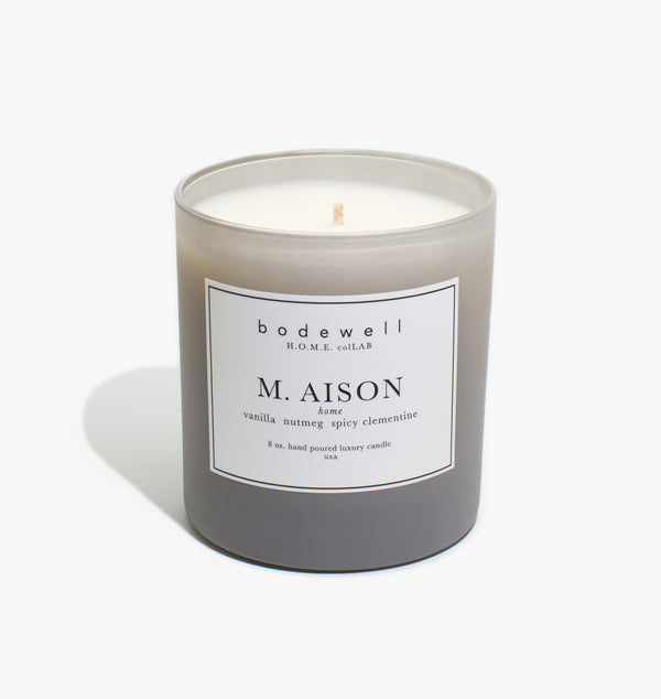 M. AISON Candle - bodewellhome.com