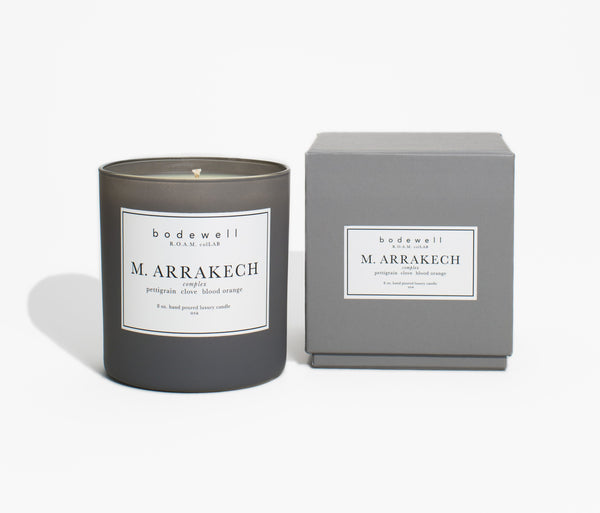 M. ARRAKECH Candle - bodewellhome.com