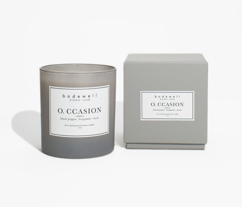 O. CCASION Candle - bodewellhome.com