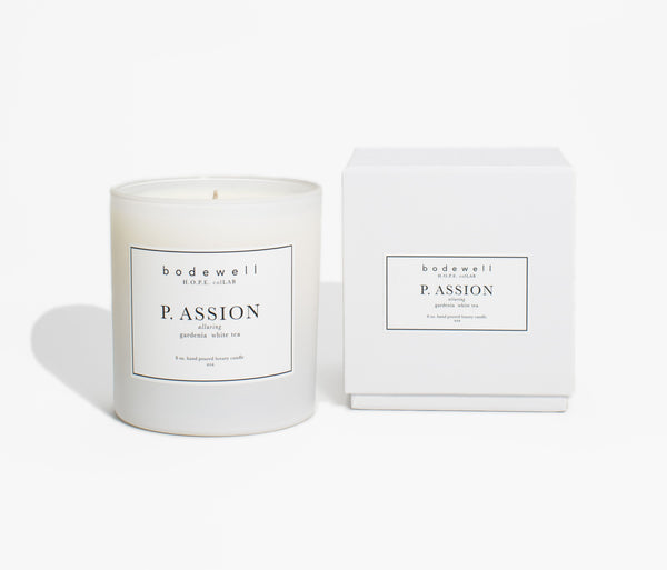 P. ASSION Candle - bodewellhome.com