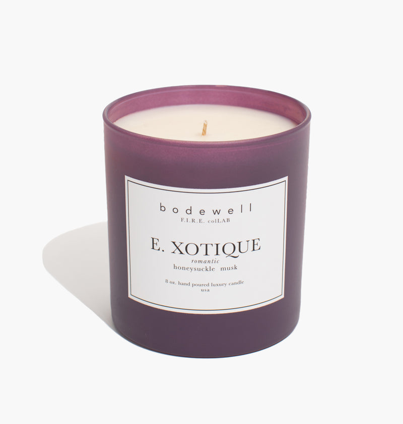 E. XOTIQUE Candle - bodewellhome.com