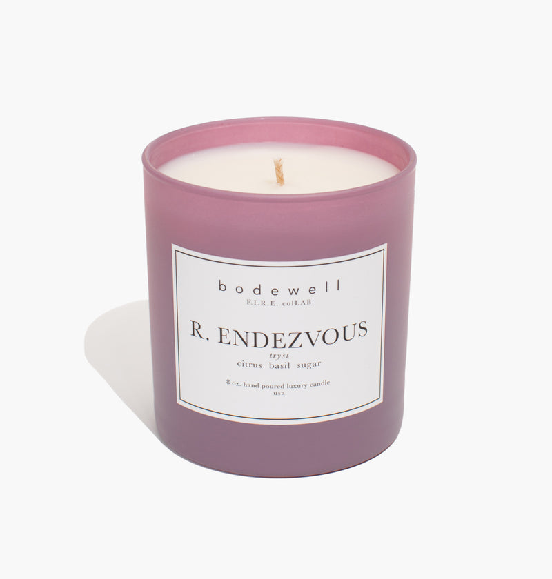 R. ENDEZVOUS Candle - bodewellhome.com
